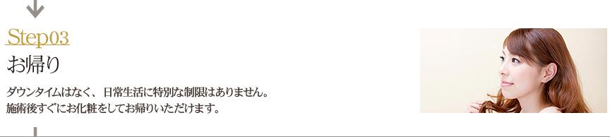 【STEP3】お帰り