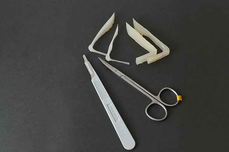 隆鼻法(プロテーゼオートクチュール法)